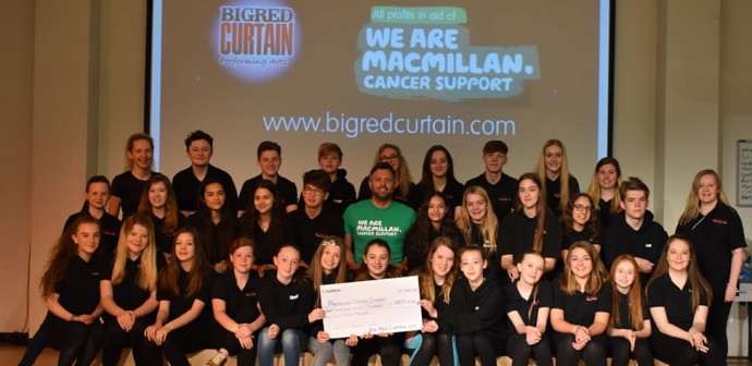 Big Red Curtain Charity Donations and Fund Raising
